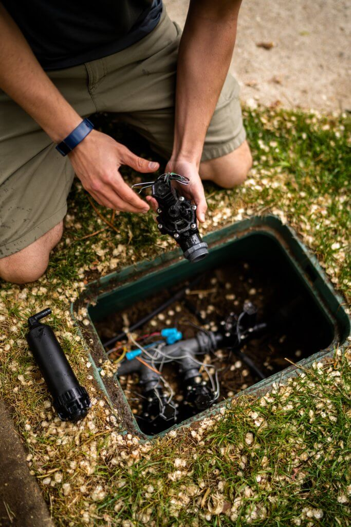 sprinkler repair watering system